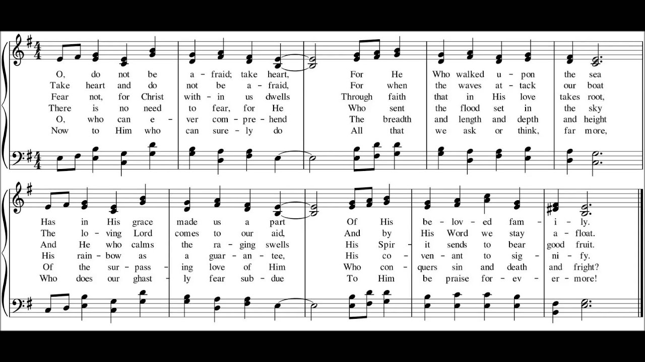 New Hymn for 9th Sunday after Pentecost -