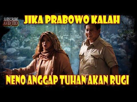 ANJRIT!!! Jika Prabowo Kalah NenoWarisman  Anggap Tuhan Akan Rugi??!