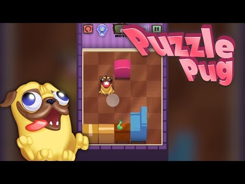 Puzzle Pug - Cute Puzzle Game for iPhone and Android