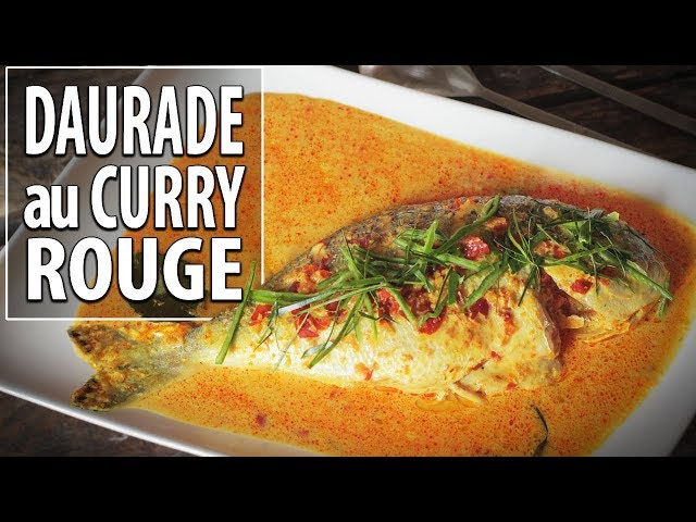Daurade au curry rouge - Le Riz Jaune