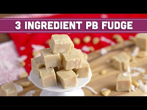 Download Youtube: How to Make 3 Ingredient Peanut Butter Fudge, Vegan - HOLIDAY FOODIE COLLAB - Mind over Munch