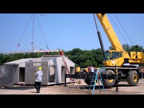 Easi Set Modular Park Restroom and Concession Stand Building