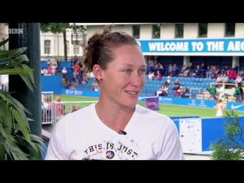 Sam Stosur - BBC Tennis interview (22 June 16)