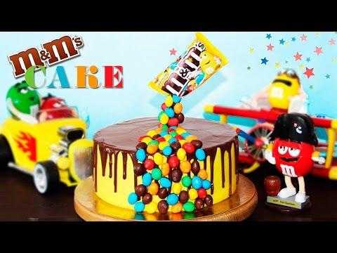 🍰 Гравитационный Торт M&Ms ♥ Необычный Торт На Детский Праздник ♥ Рецепты NK cooking