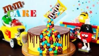 🍰 Гравитационный Торт M&M's ♥ Необычный Торт На Детский Праздник ♥ Рецепты NK cooking