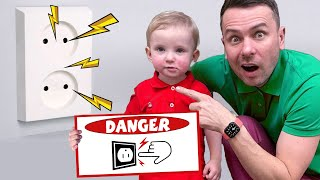 Be Safe Alex Nursery Rhymes with Five Kids