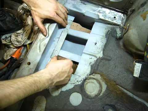 Part 17: Rear Passenger Floor Sheet Metal Repair - My 76 Mazda RX-5 Cosmo Restoration