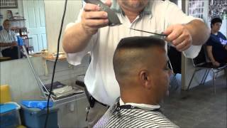 MILITARY FLATTOP SHAVED SIDES CHECK IT OUT !!! thumbnail