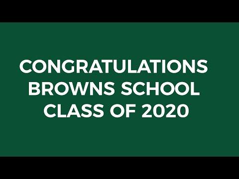 Browns Elementary School Virtual Graduation