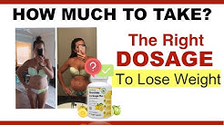 Garcinia Cambogia Dosage And Reviews 2020: [WARNING] How Much Should You Take To Lose Weight Fast?