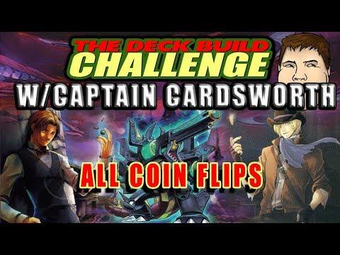 ALL COIN FLIPS - The Deck Build Challenge w/ Captain Cardsworth Vs. Hardleg