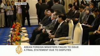 ASEAN summit ends with walk-out by the Philippines' foreign minister