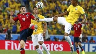 Brazil vs Colombia 0-1 All goals & highlights Copa America 17-06-2015