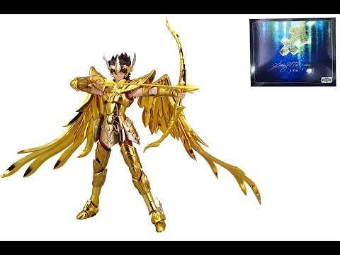 [Review] Agittarius Aiolos TV Saint Seiya  Myth EX S-temple METAL CLUB