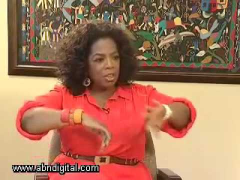 Oprah Winfrey with Exclusive Interview -  Mentioned African girls ...