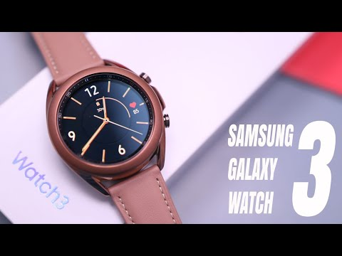 Galaxy Watch 3 - Unboxing, First Impressions & Size Comparison