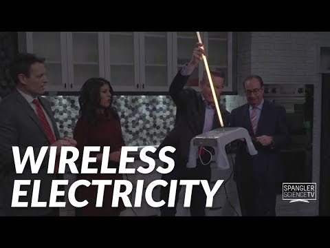 Wireless Electricity with Steve Spangler on 9News