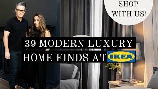 IKEA SHOP WITH US | 39 MODERN LUXURY FINDS @IKEA | shop with me | ikea haul
