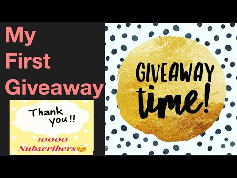 First #Giveaway In My Channel Telugu/ Giveaway Details And Rules/ #Giveawaygifts/ Honeys Special