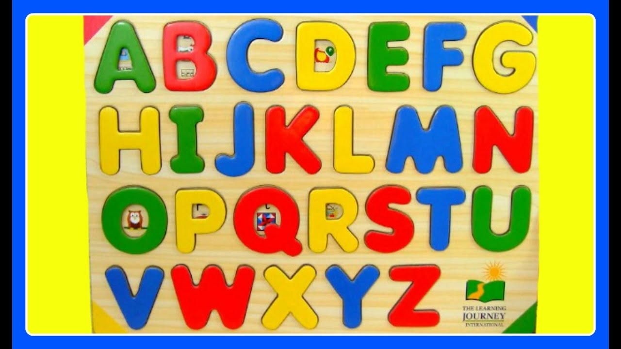 Learn ABC Alphabet Letters! Fun Educational ABC Alphabet Video For ...