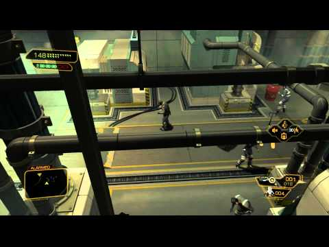 Deus Ex: Human Revolution - Panchaea Part 2 - Saving Taggart and Sarif [Deus Ex Machina]