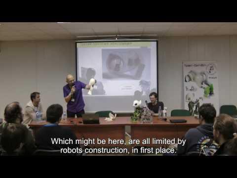 Sweetie Bot Project - RBC'16 presentation