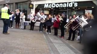 Brass Band Flash Mob