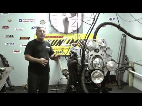 SBC 383 500HP Fuel Injected Turn Key Engine - YouTube
