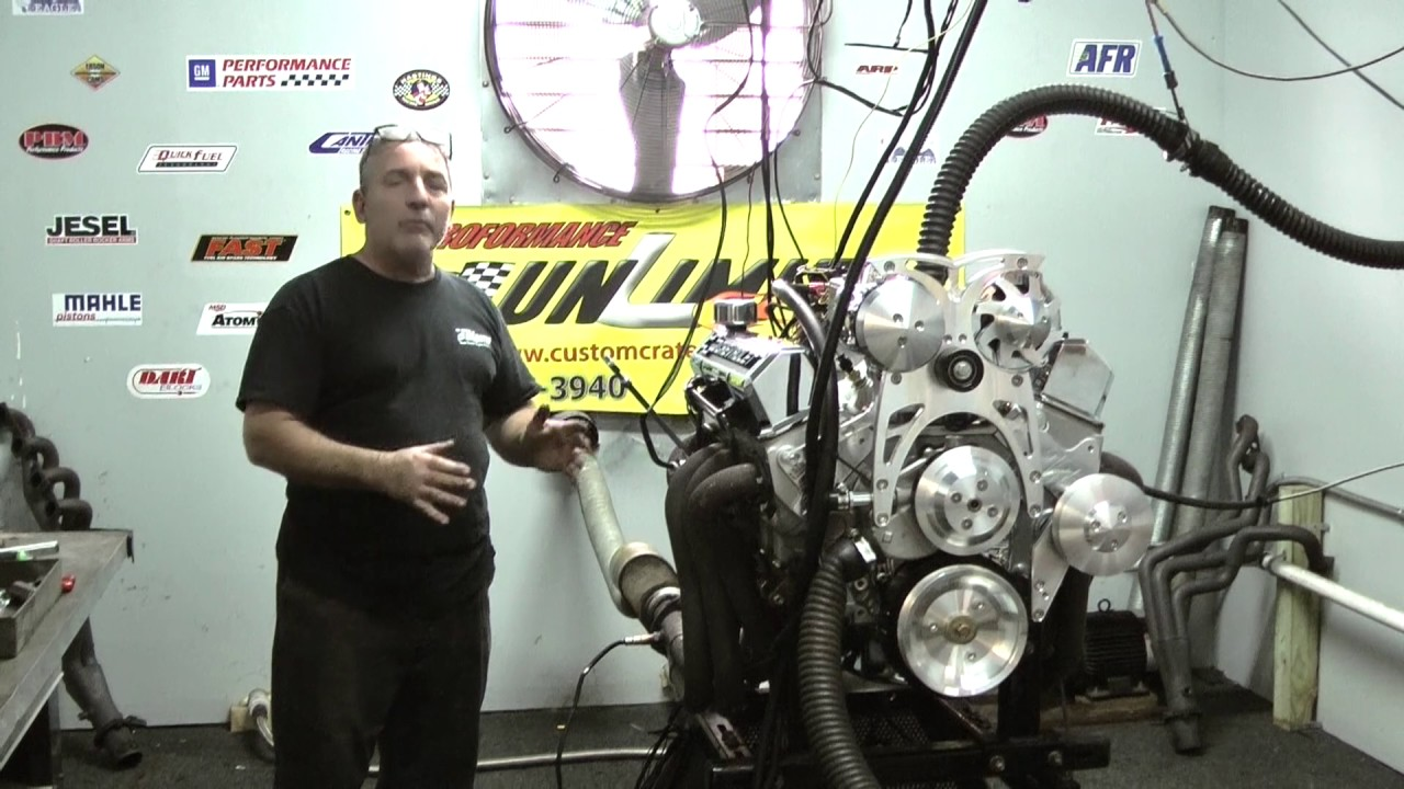 SBC 383 500HP Fuel Injected Turn Key Engine