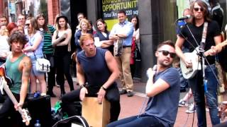 KEYWEST - Electric Love - Live on Grafton Street, Dublin, Ireland 14/08/13