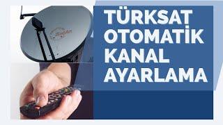 Türksat Otomatik Kanal Arama Frekansı (Türksat 4A Uydu Ayarlama) 2019