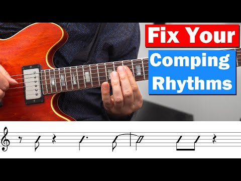Comping Rhythms - 10 Examples You Need To Know
