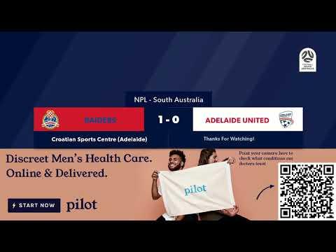 🏆 NPL SA Round 1️⃣2️⃣, 🏟 Raiders Vs Adelaide United FC #NPLSA