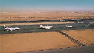 UAE 47th National Day Formation Flight - Behind Th...