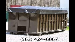 (563) 424-6067 Dumpster Rental West Liberty, Iowa