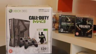 Call of Duty Modern Warfare 3 Limited Edition XBox 360 Console Unboxing