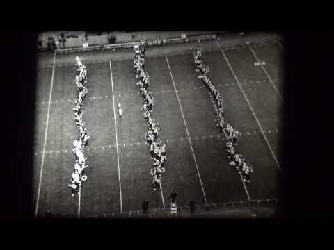 Memphis State University Marching Band - 1966 (vs. Tulsa)