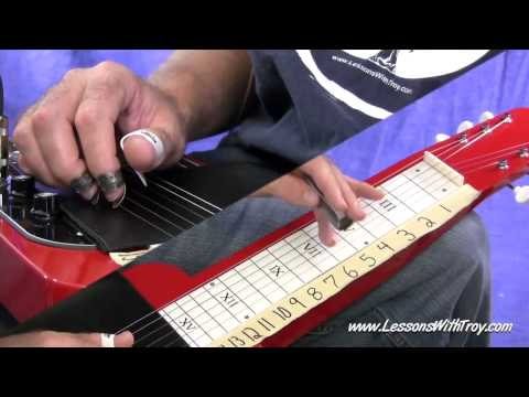 Understanding The Fretboard - C6 LAP STEEL - Vol. #1