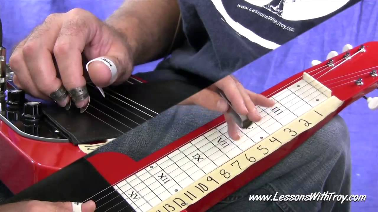 Understanding The Fretboard  C6 LAP STEEL  Vol #1  YouTube