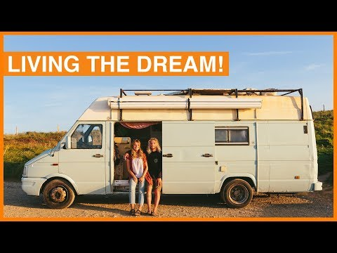 Full-Time Van Life Heading to Africa - Iveco Daily Van Tour!