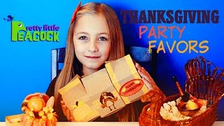 Thanksgiving Craft Ideas For Kids Easy Turkey Pumpkin Party Favors Hd - Plp