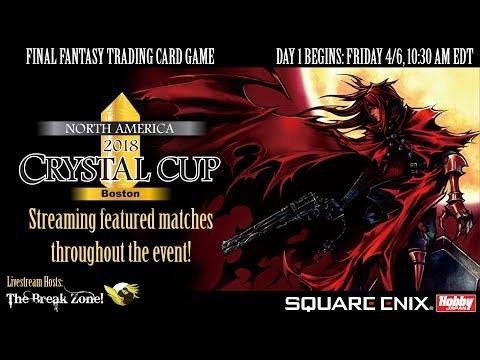 FFTCG NA 2018 Crystal Cup Boston Day 1