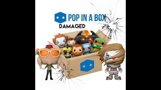 Damaged == POP IN A BOX == Mystery Unboxing Review | Funko Pop Vinyl | PIAB UK