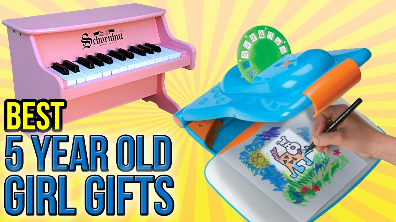 10 Best 5 Year Old Girl Gifts 2016 - YouTube