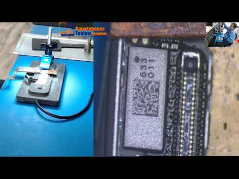 Iphone 7 charger fpc Connector Replacement Easy way!!