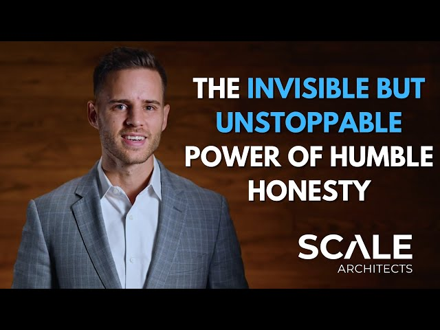 The invisible but unstoppable power of humble honesty