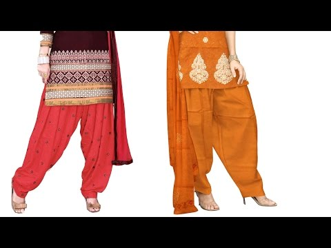 Simple salwar DIY | simple salwar cutting and stitching full video