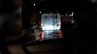 Inondation du périphérique à Paris: les images d'un témoin BFMTV