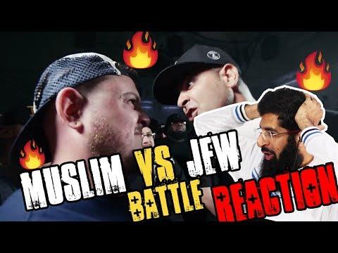 MUSLIM VS JEW RAP BATTLE (REACTION)