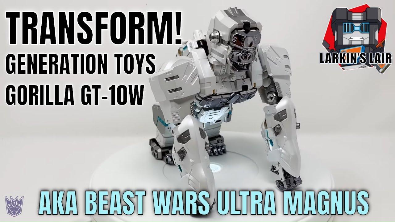 Generation Toy Gorilla GT-10W aka T-Beast Ultra Magnus by Larkin's Lair